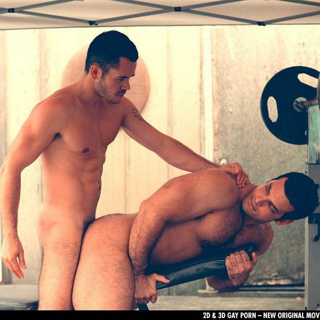 Valentin Petrov fucks Marcus Ruhl in the gym   Daily Dudes @ Dude Dump