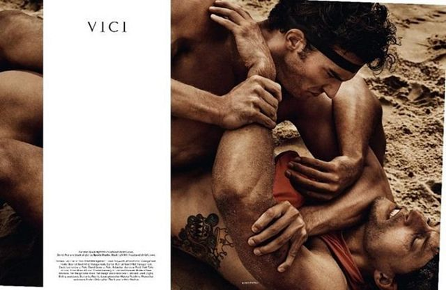 Veni Vidi Vici, photography by Mario Testino for M | Daily Dudes @ Dude Dump