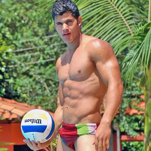 Volleyball and Speedos | Daily Dudes @ Dude Dump