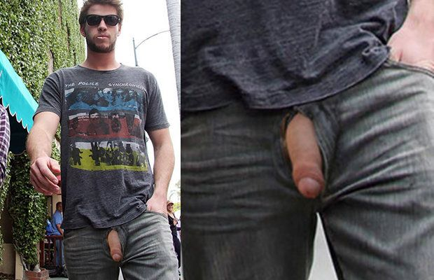 Walking with his dick out | Daily Dudes @ Dude Dump