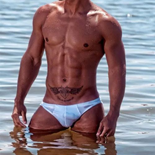 White Speedo Lining | Daily Dudes @ Dude Dump