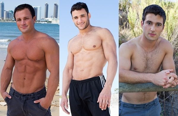 Who is Hottest? Rene, Rocco and Spencer | Daily Dudes @ Dude Dump