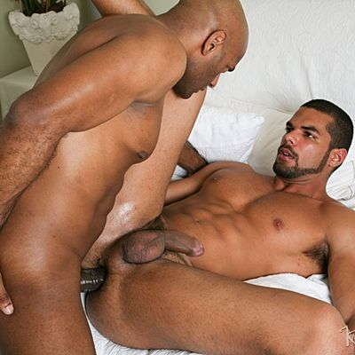 William Bravo Fucks a Big Load out of Lucas Fox | Daily Dudes @ Dude Dump