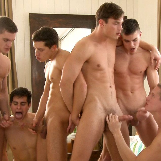 Winter Warmer, Gay Orgy! | Daily Dudes @ Dude Dump