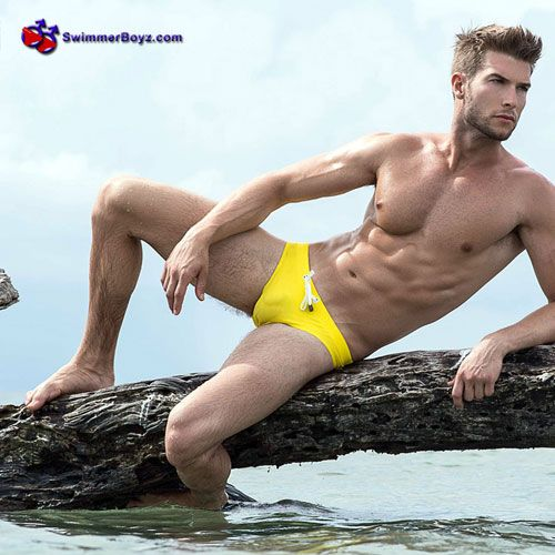 Yellow Speedo | Daily Dudes @ Dude Dump