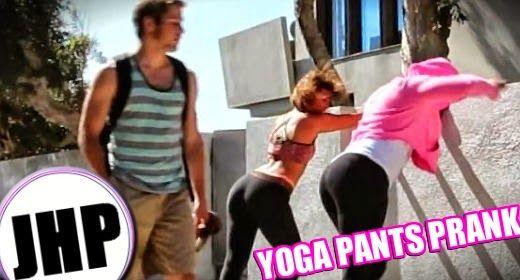 YOGA PANTS PRANK! | Daily Dudes @ Dude Dump