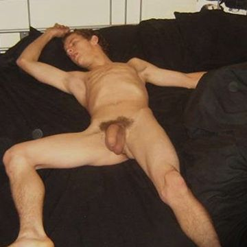 You're awake, but they still sleep… naked | Daily Dudes @ Dude Dump