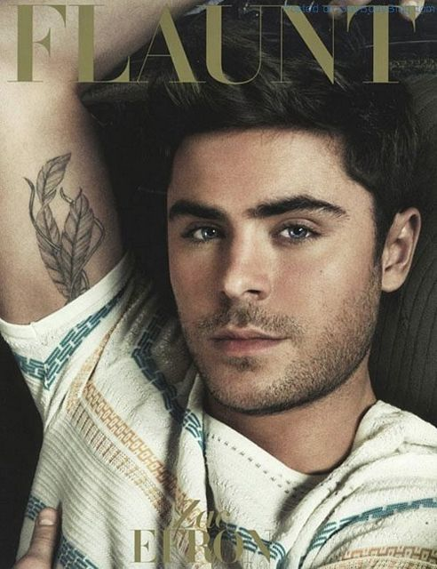 Zac Efron In Flaunt Magazine | Gay Body Blog | Daily Dudes @ Dude Dump