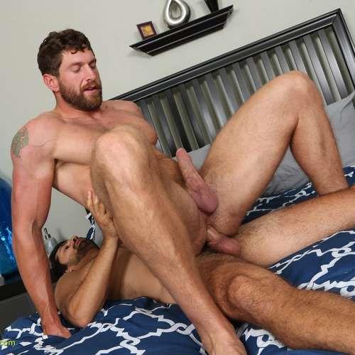 Zane, Masculine Hunk Rides Big Raw Cock | Daily Dudes @ Dude Dump