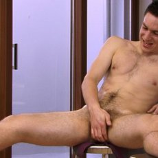 Miles Gregory Wanks His Hairy Jock Cock | Daily Dudes @ Dude Dump