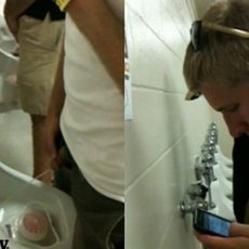 7 guys photographed while pissing | Daily Dudes @ Dude Dump