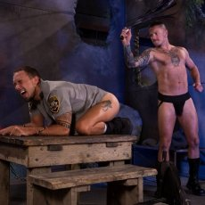 Max Cameron, Pervy Hooligan Drills Police Officer | Daily Dudes @ Dude Dump